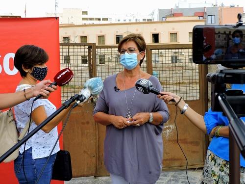 El PSOE denuncia que no se ha construído el centro sanitario de la Plaza de la Concordia