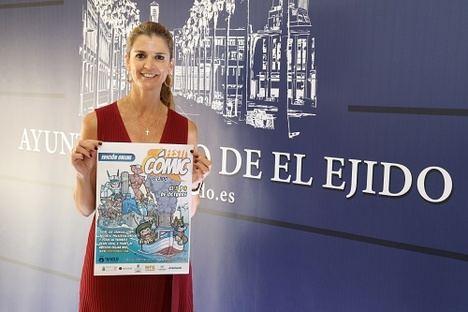 'Festicómic El Ejido' se convierte en la edición de 2020 en un evento 100% online