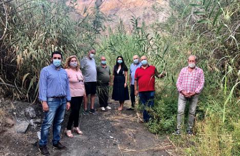 El PSOE urge a Crespo a limpiar el río Nacimiento