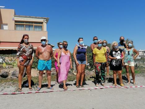 El PSOE anuncia la regeneración de la playa de Vera