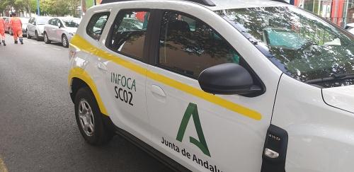 La Junta adquiere por primera vez 18 vehículos prioritarios el Infoca