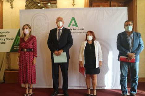 Torregrosa destaca que Almería es fundamental en el Acuerdo para la Reactivación Económica y Social de Andalucía
