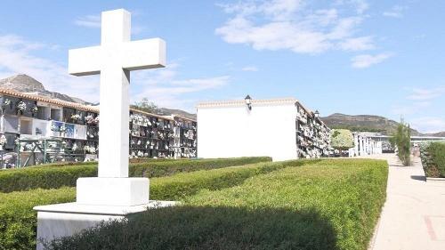 Adra reduce el aforo del Cementerio Municipal con motivo del Día de Todos los Santos