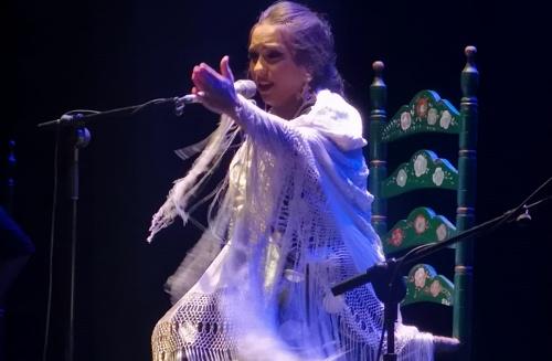 Deslumbrante exhibición de flamenco en Adra de María Terremoto