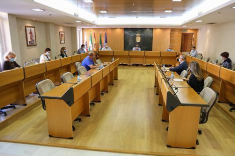 La Junta de Portavoces de El Ejido repasa las actuaciones articuladas frente al #COVID19