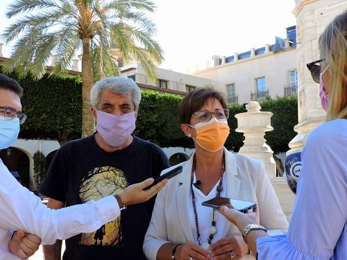 El PSOE amplía su demanda ante el TSJA sobre la Plaza Vieja
