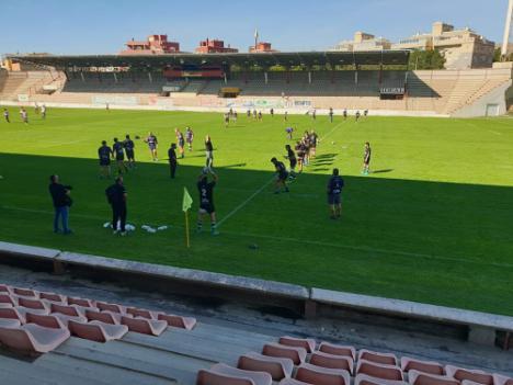 Arranca la temporada de rugby para el URA con estrictas medidas #COVID19