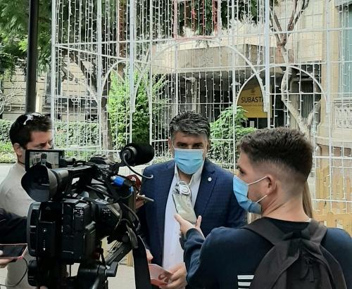Cs pide consensuar con los interesados un plan de revitalización del centro de Almería