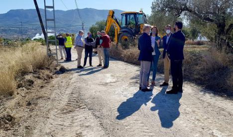 Agricultura destina 4 millones al arreglo de 61 caminos rurales afectados por la DANA de 2018