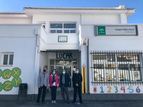Educación invertirá 450.000 euros en mejora de seis colegios de la provincia de Almería