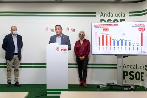 El PSOE defiende que los Presupuestos reconstruyen lo dañado por la pandemia