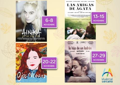 El Ciclo 'Mujeres de Cine' del Ayuntamiento en Huércal de Almería