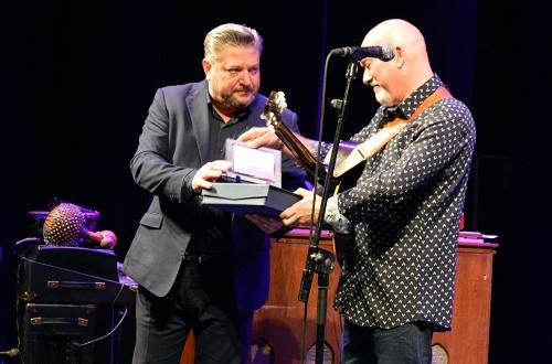 Paco Rivas recibió el primer premio 'Georgia Jazz Club en memoria de Serafín Cid'