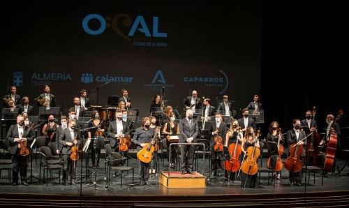 La OCAL triunfa con la 'Quinta Sinfonía' de Beethoven y con Tomatito en el 'Concierto de Aranjuez'