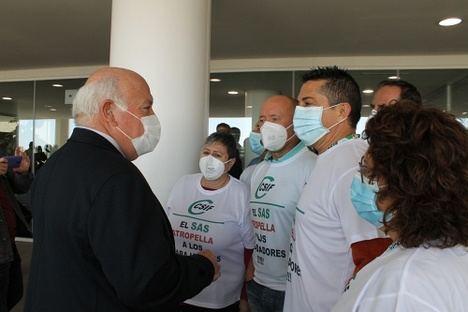 Aguirre reconoce a CSIF el error de la Orden que elimina los derechos de los trabajadores del SAS
