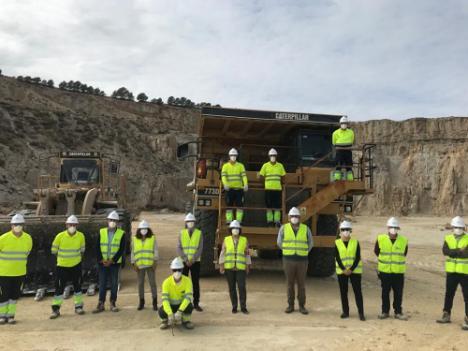 La viceconsejera y el delegado de Educación visitan en Sorbas el ciclo 'Excavaciones y Sondeos'