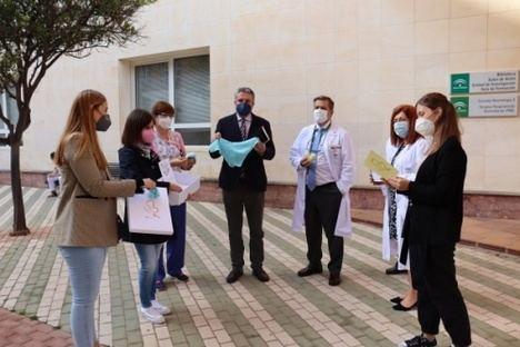 El Hospital de Poniente humaniza la atención del duelo perinatal con 'Siempre en Mí'