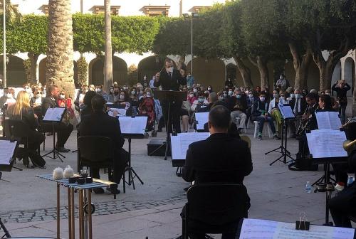 La Banda Municipal celebra Santa Cecilia con un concierto de cine