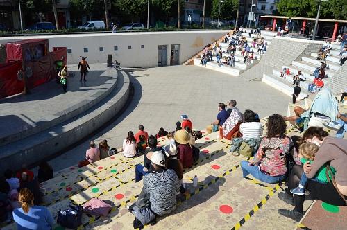 El teatro infantil 'Salvemos El Bosque' en el Anfiteatro da vida familiar al domingo