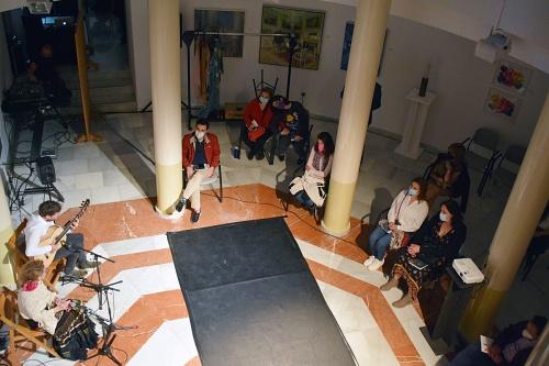 La cultura de Almería comparte su arte en el Espacio 2 contra la violencia de género
