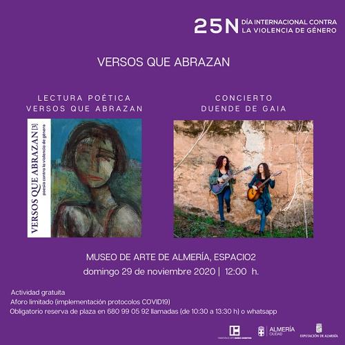 El domingo se presenta'Versos Que Abrazan III' en 'Espacio 2'