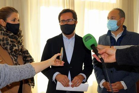 El alcalde de El Ejido está satisfecho por las inversiones de la Junta