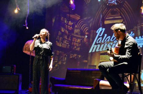 María Villalón conquista en la última cita del año de 'Palabra de Músico'