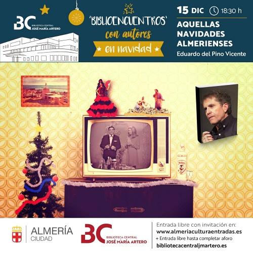 Eduardo del Pino abrirá los 'Biblioencuentros con autores en Navidad'