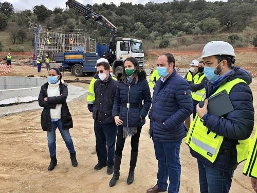 Más cerca la nueva depurada de aguas residuales de Alcudia de Monteagud y Tahal