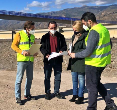 El Consorcio de Transporte mejorará la parada de bus de San Nicolás Sur en La Mojonera