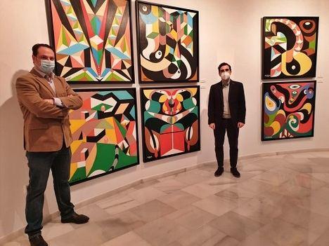 El pintor Miguel García trae un 'Amanecer' de luz a la sala Jesús de Perceval