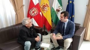 """Fernández-Pacheco: """"Si me importara el balance del primer año tendría Almería levantada pero he preferido no perjudicar a los comerciantes en Navidad"""""""