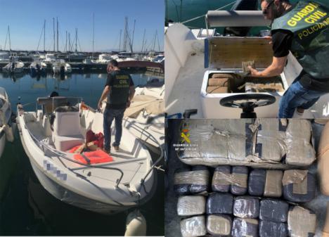 Almería estaba en la red de unos narcos que introducían hachís a través del Mar Menor