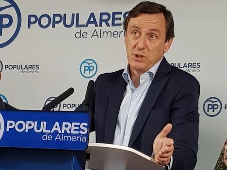 """Hernando afirma que """"Almería ha recuperado el 100% del empleo que se perdió con los socialistas"""""""