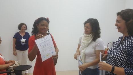 Clausura de los talleres de Preformación Laboral del MPDL en Vícar