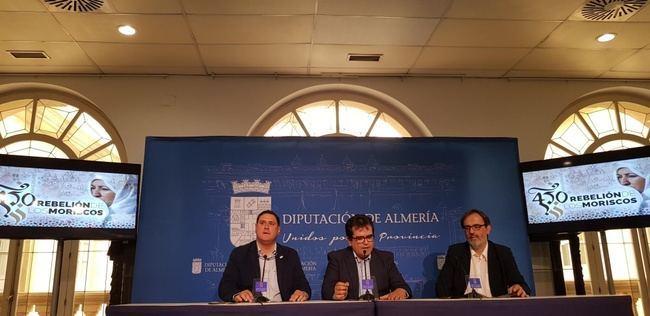 Diputación lleva a la provincia el 450 Aniversario de la Rebelión de los Moriscos