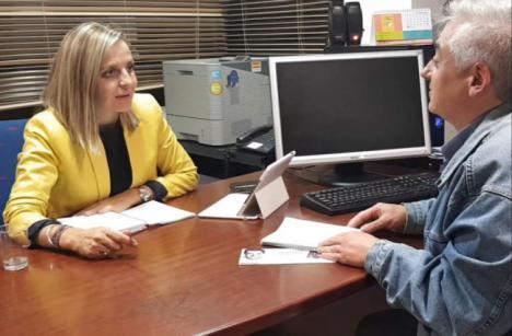 """Maribel Sánchez: """"Ciudadanos ha sido cómplice del agravio del PSOE a Almería en la Junta"""""""