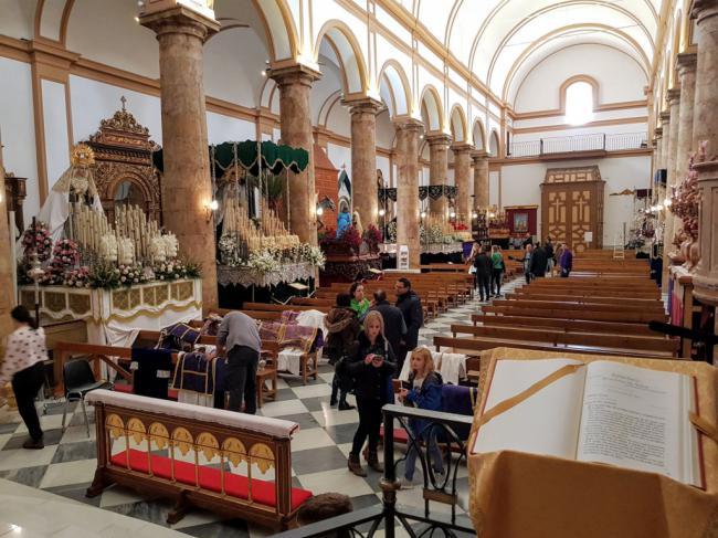 El Museo de la Semana Santa de Berja vive su primera cita