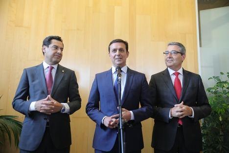 García acude al pleno de constitución de la Diputación de Málaga