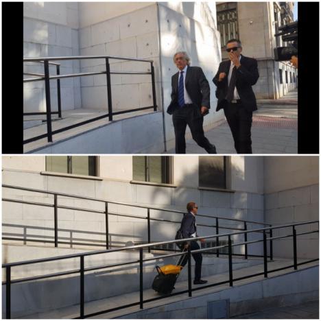 Los abogados del caso Gabriel entran sin hacer declaraciones
