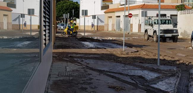 La Junta abona en Almería 1,6 millones de euros a los municipios afectados por el temporal de lluvias
