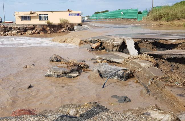 200 incidencias y declarado el nivel 2 de emergencia ante el temporal en Almería