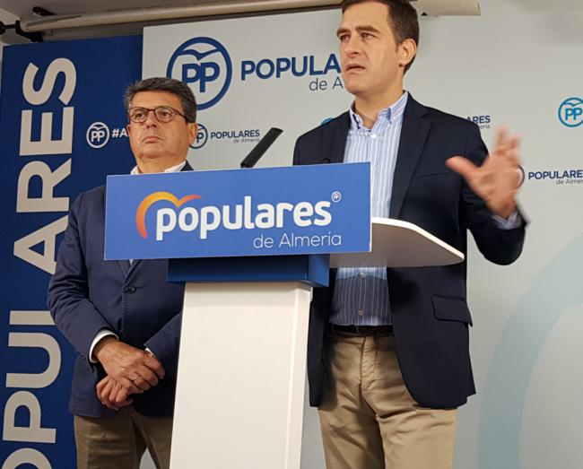 Castellón le recuerda a Guirao que siendo ministro no ha luchado por Almería