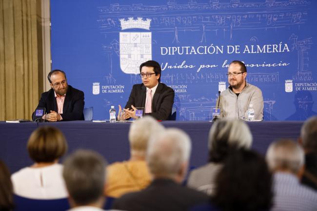 Diputación acoge la presentación del libro 'Dos estrellas en el cielo de los Filabres'