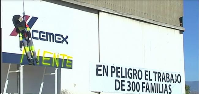 Cemex ofrece recolocar al 91% de los afectados por el ERE