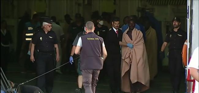 Marruecos se desentendió en la última tragedia de inmigrantes en sus aguas