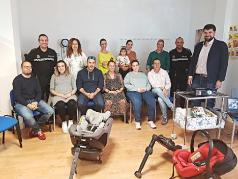 El Ayuntamiento de Roquetas organiza un taller de Educación Vial para embarazadas