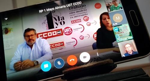 """UGT y CCOO disculpan la gestión """"mejorable"""" del Gobierno ante el #COVID19"""
