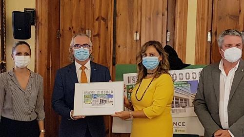 La ONCE reivindica con un cupón la importancia del Hospital Torrecárdenas