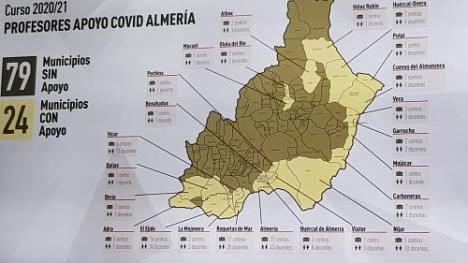 Más de un centenar de centros ya tiene profesores de refuerzo por el #COVID19